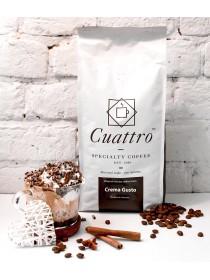 Кофе в зернах CUATTRO Crema Gusto